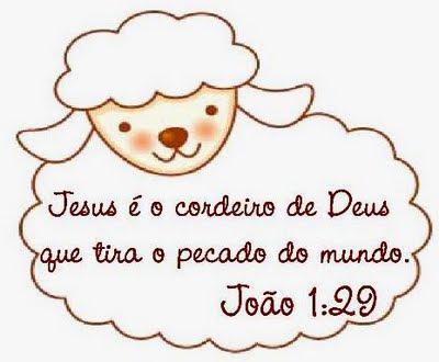Jesus o cordeiro de Deus