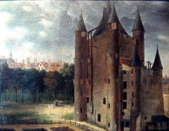 templo do castelo parisiense - a residência dos Templários