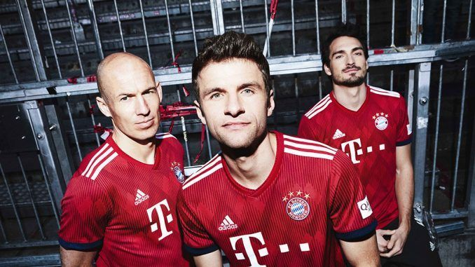 Bayern Munich 2018/19 Kit - Dream League Soccer 2019 - Gamer