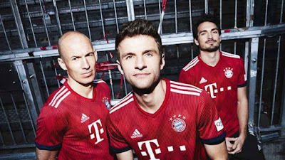 Bayern Munich 2018/19 Kit - Dream League Soccer 2019