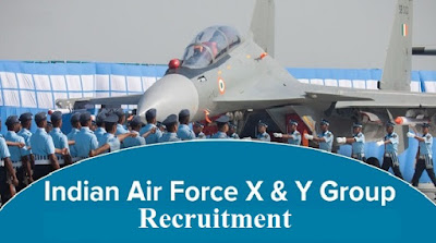 Indian Air Force job notice out for Air Force X, Y Group 01/2021 Online Form 2020|Apply online