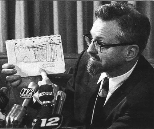 Allen Hynek Ufologist and debunker.