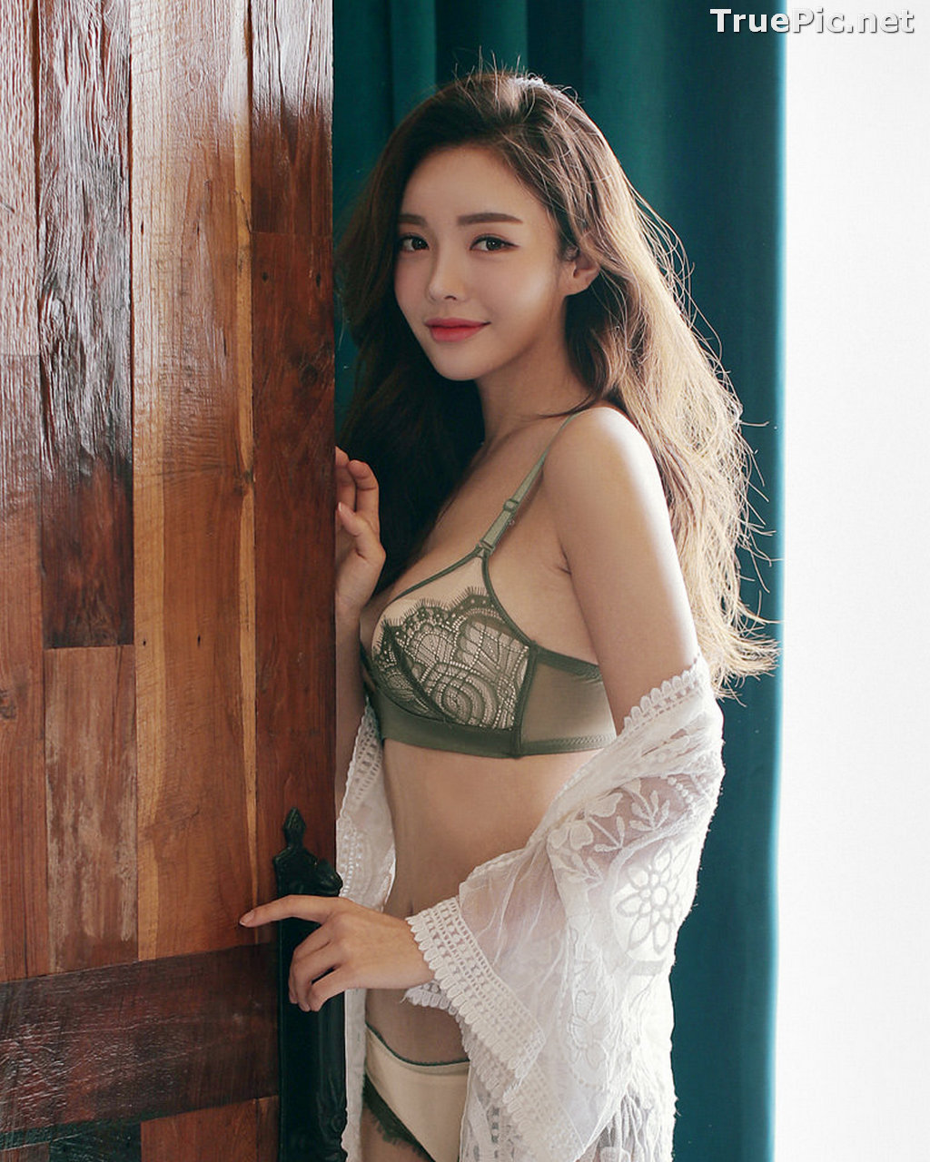 Image Korean Fashion Model – Jin Hee – Sexy Lingerie Collection #2 - TruePic.net - Picture-1