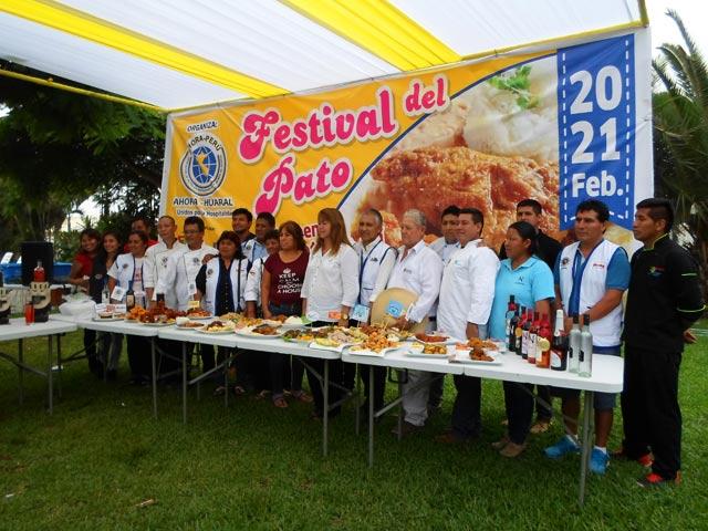 Festival del pato - Huaral