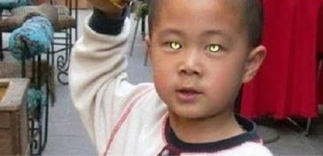 В Китае обнаружена новая человеческая раса: ребёнок видит в темноте!