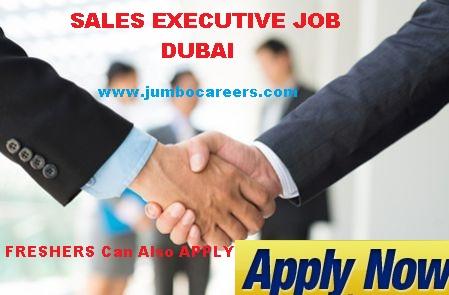 dubai jobs for freshers, sales executive freshers job in uae dubai