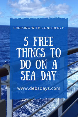 5 free things to do on a sea day on a cruise ship
