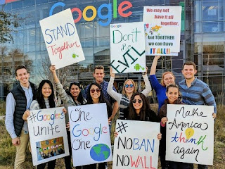 Google Walk Out of employees across the globe
