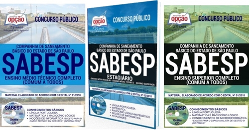 sabesp estagio 2018