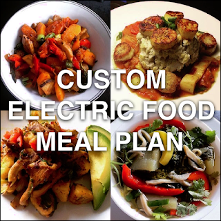 Custom Electric Food Meal Plan