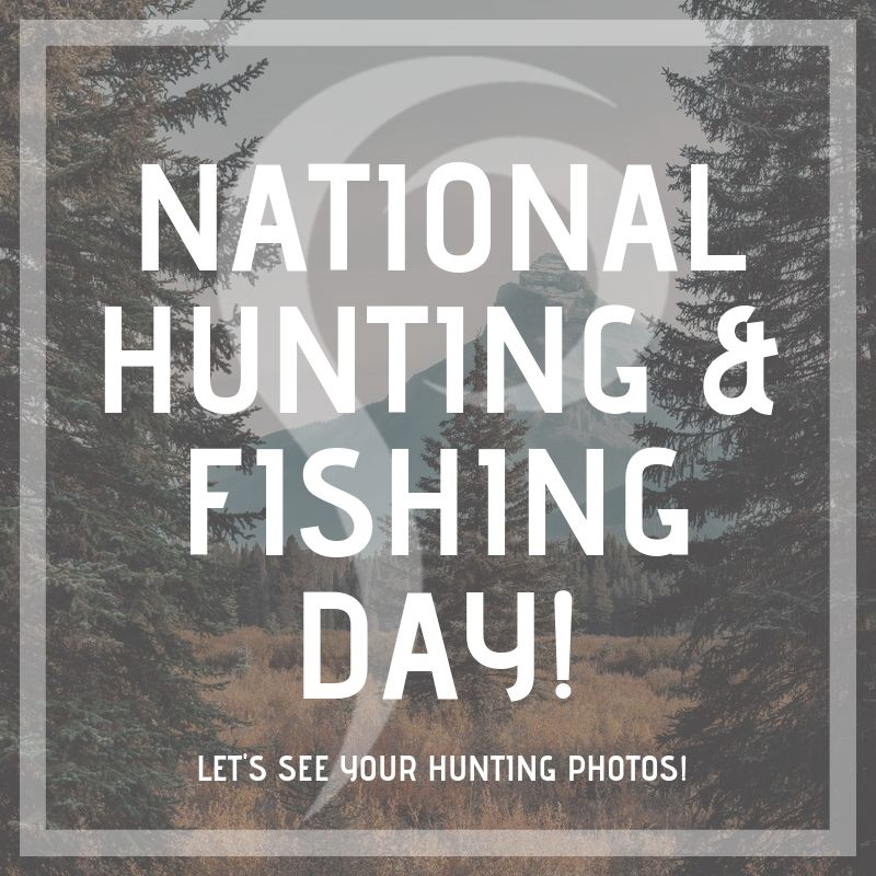 National Hunting and Fishing Day Wishes for Instagram