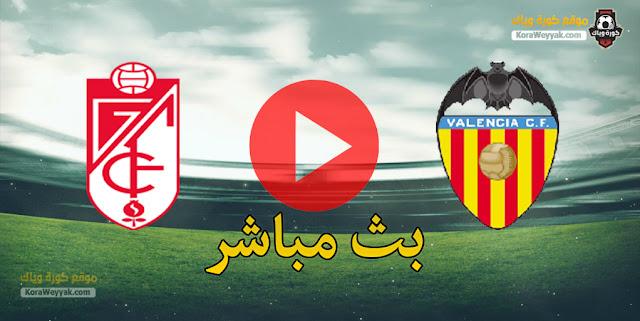 نتيجة مباراة فالنسيا وغرناطة اليوم 30 ديسمبر 2020 في الدوري الاسباني
