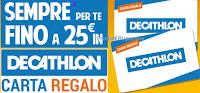 Logo ''Più Sustenium, più energia'': migliaia di Carte regalo Decathlon come premio sicuro
