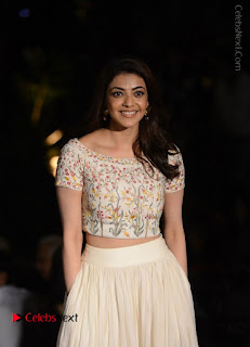 Actress Kajal Agarwal Latest Pos at LFW Summer 2017  0002.jpg