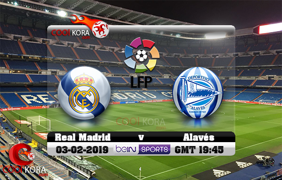 مشاهدة مباراة ريال مدريد وديبورتيفو ألافيس اليوم 3-2-2019 في الدوري الأسباني