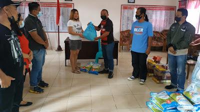 Jurnalis Minahasa Tenggara Bantu Korban Banjir