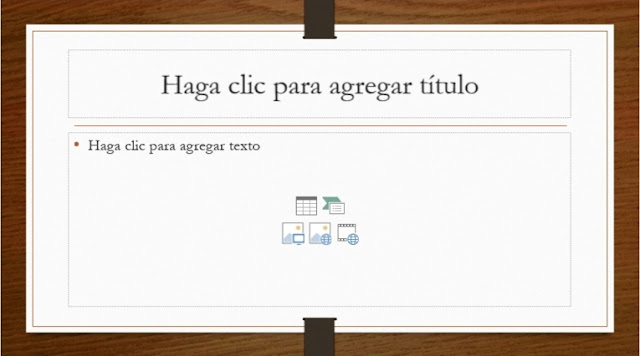 Agregar título y objetos a diapositiva