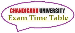 Chandigarh University Exam Date Sheet 2021