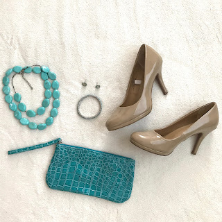 Thrifty Wife, Happy Life | Turquoise accessories