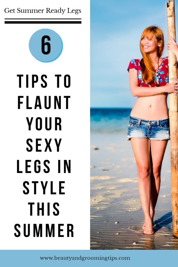 Tips to flaunt your legs for summer - pic of women with sexy, long legs on a beach