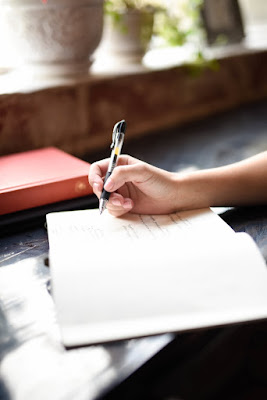 autor escribiendo una novela