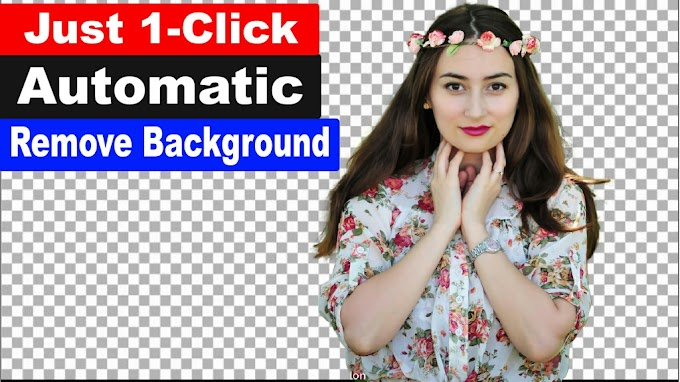 1 Click Automatic Background Remove Hidden Technology in Photoshop