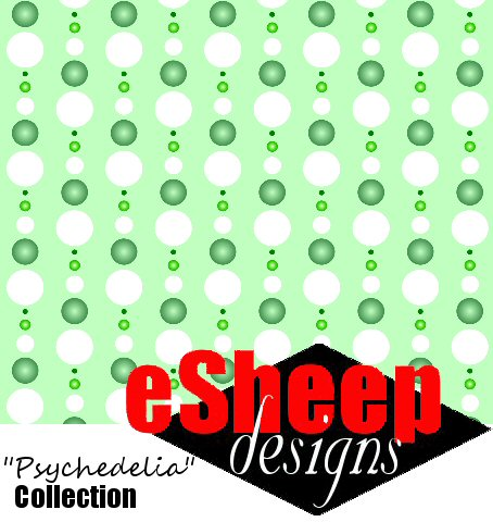 It's a Dotty World fabric by eSheep Designs