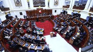 Congreso debate pedido de cuestión de confianza