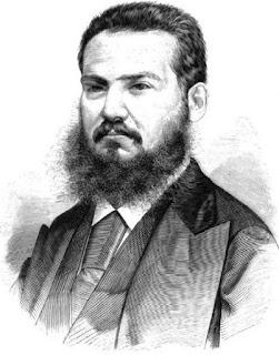 Francisco Delgado Jugo. Grabado publicado en 1875 con ocasión de su muerte