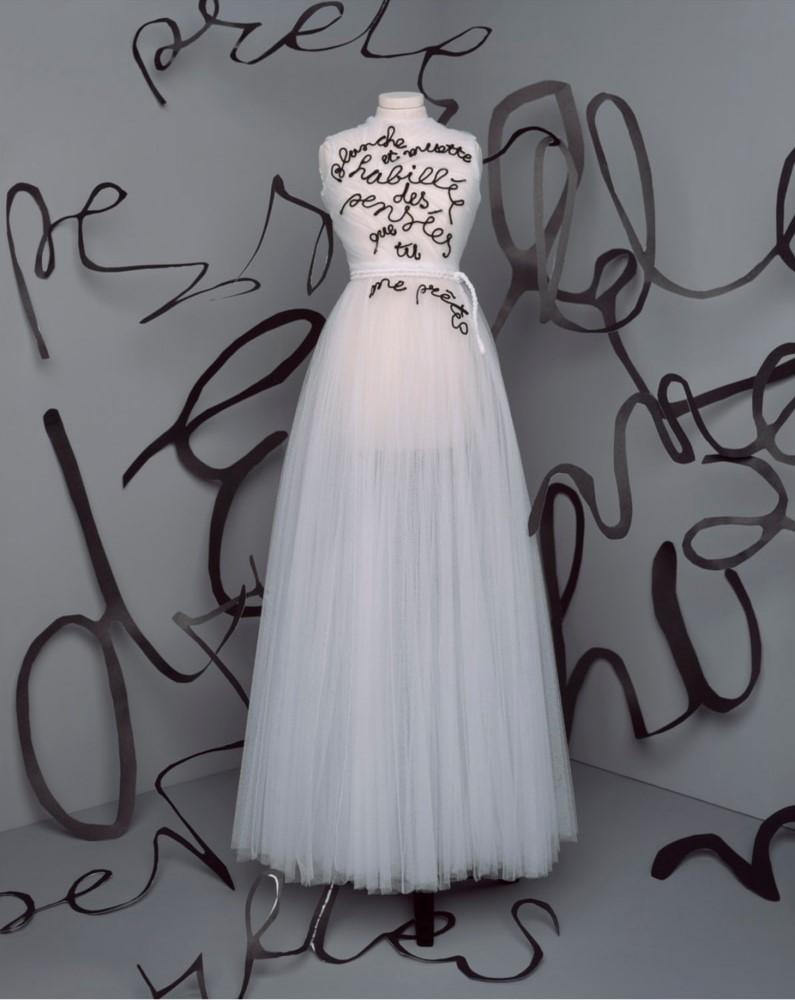 Vestido Dior outono-inverno 2020-2021