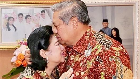 SBY Ingin Kecup Ani Yudhoyono untuk yang Terakhir Kali