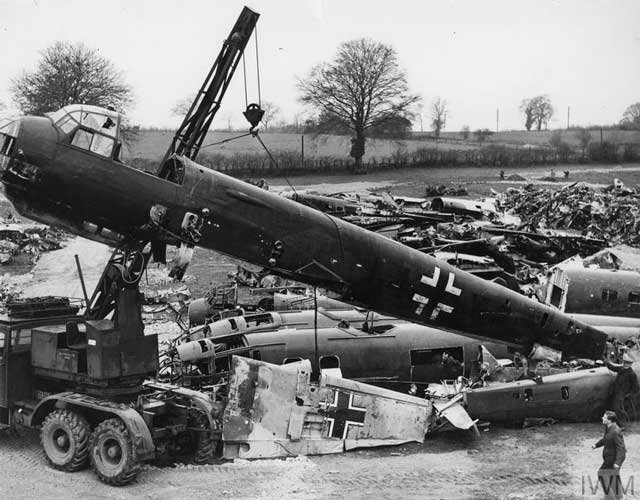 Luftwaffe graveyard in Great Britain, 24 February 1942 worldwartwo.filminspector.com