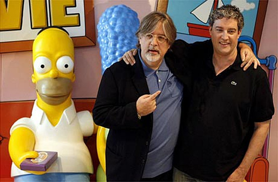 Matt Groening and Al Jean - Simpsons series