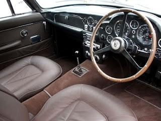 Aston Martin DB5 Cabin Interior
