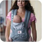 Ergo Baby Carrier Uk Natalie Portman Holds Her Baby Close