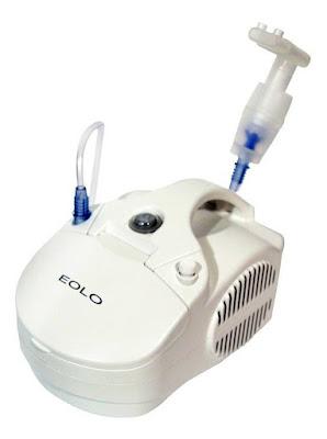 nebulizador portatil eolo calidad certificada, superresistente, blanco, italiano