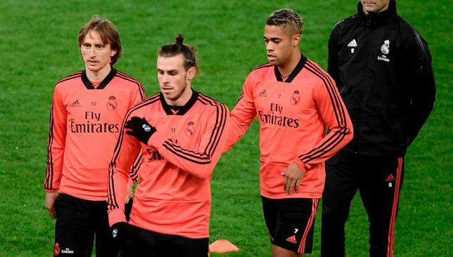 "Mariano joking Gareth Bale: Control the ball as you deal with ""golf"""