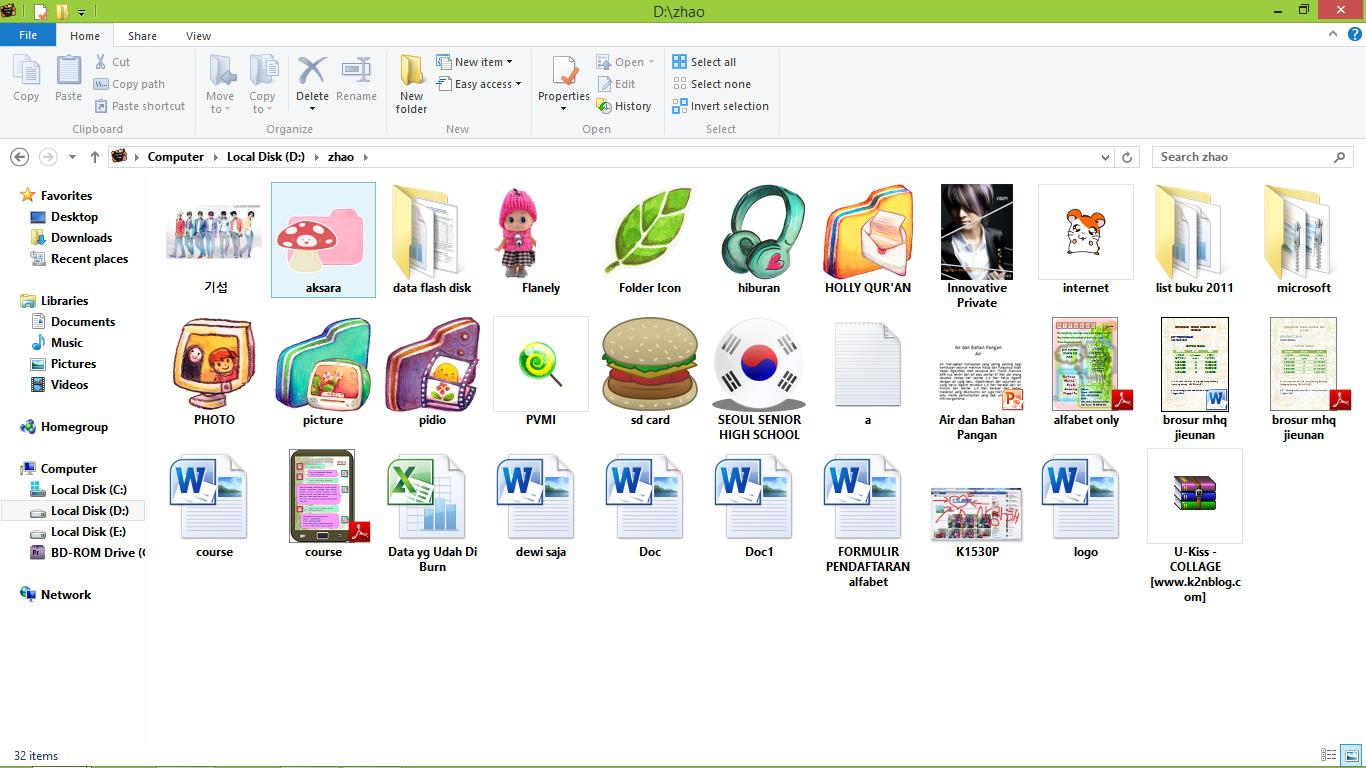 "Timmy ""ŒŒë°ì•"""" BLo9 U Kiss Folder Icon Free Download"