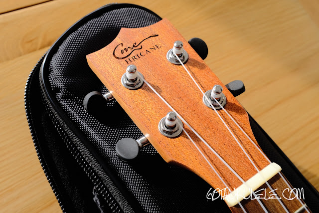 Hricane UK-23 Ukulele headstock