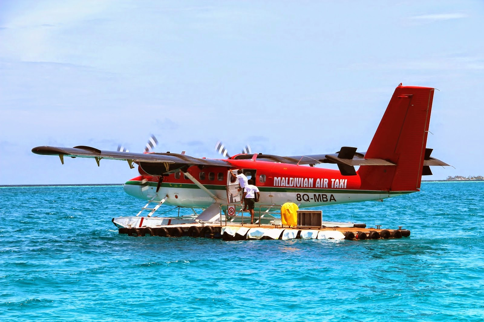 Seaplane Transfer Maldives Resort