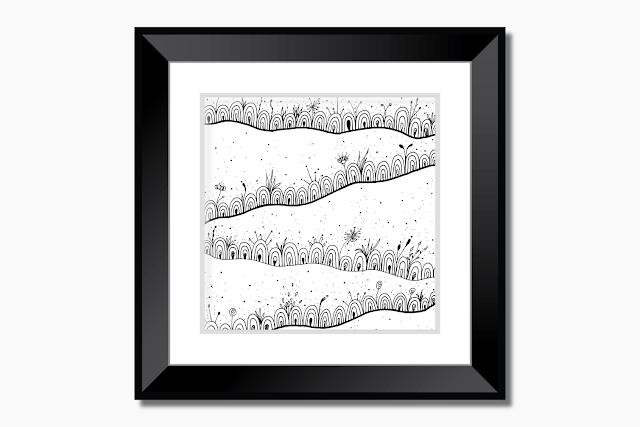 Doodle Landscape Illustration
