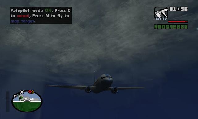 GTA San Andreas Auto Pilot Mod Download