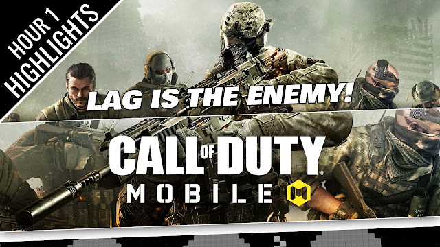 CALL OF DUTY MOBILE Gameplay on PC! Only ONE Battleroyale WIN while LAGGING!