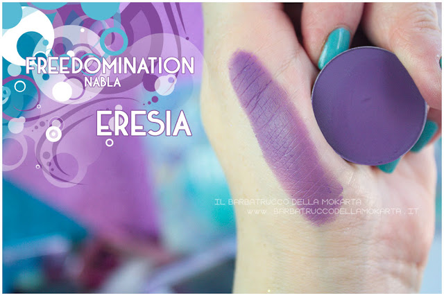 eresia swatches nabla cosmetics freedomination collection summer eyeshadow