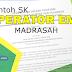 Download Contoh SK Operator Madrasah Pengelola Emis Terbaru