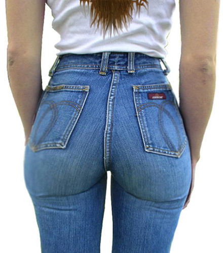 Round Ass In Jeans