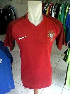 Jual Jersey Portugal Home Piala Eropa 2016 di toko jersey jogja sumacomp, murah berkualitas