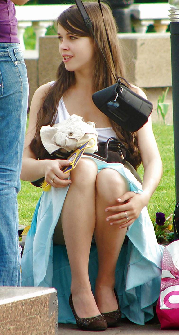Long Upskirt No Teen Panties Asian Right Good