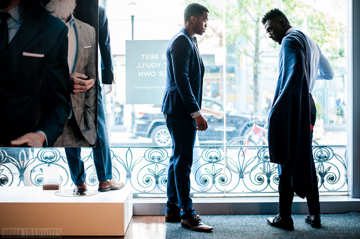 d071150c6e6 This post is about our experiences getting suits made for us at Indochino.  It is also about the suit Akief had made for him