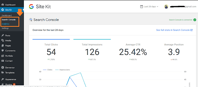 How To View Google Analytics In WordPress Dashboard | Site Kit By Google 24
